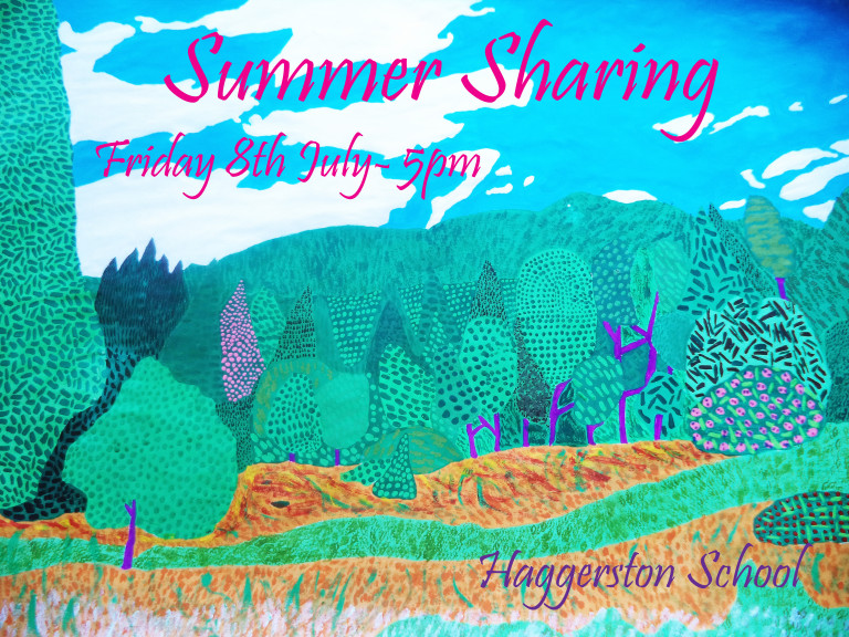 Summer Sharing-Friday 8th july 5:00 p.m.