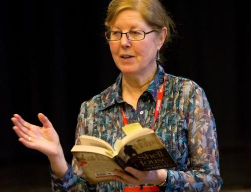 Author visit – Linda Newbery