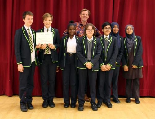 Haggerston School wins the Carnegie Medal