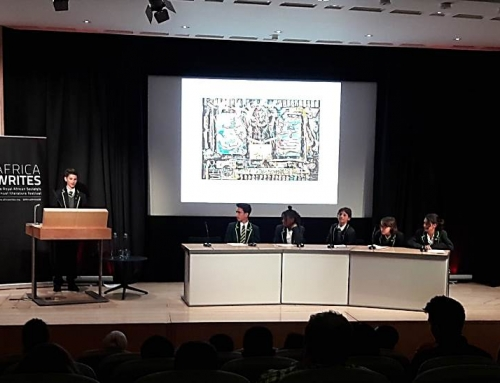 Years 8 & 9 participated in the Royal African Society's Literature Festival at the British Library